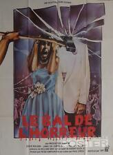 PROM NIGHT - CURTIS - HIGH SCHOOL - AX - DANCING - ORIGINAL FRENCH MOVIE POSTER