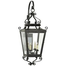 Visual Comfort Lafayette Large Bracketed Lantern in French Rust Nw2703Fr-Cg