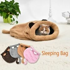 Cute Cat Sleeping Bag Warm Lovely Soft Pet Cat Mat Cushion High Quality Product