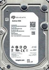 New Seagate 8TB ST8000AS0002 P/N: 1NA17Z-569 F/W: RT18 TK  SATA III Hard drive