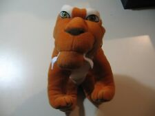 "12"" plush Diego the Saber Tooth doll, from Ice Age, good condition"