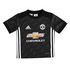 Camisetas de fútbol de clubes ingleses de manga corta negros adidas