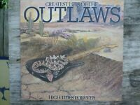 Greatest Hits of the Outlaws Record Album 1982 Arista Records AL8-8134