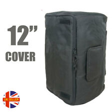 """Citronic 12"""" Inch Protective Padded Universal Transit PA Speaker Carry Bag Cover"""