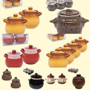 Keramiktopfset 6 St Auflauftopf Ofenform Schmortopf Keramiktöpfe