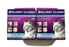 New Genuine Feliway Classic 30 Day Starter for Cats *Lot of 2*