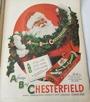 Vintage Life Magazine 1946 Christmas Tobacco Whiskey Equestrian Advertisements