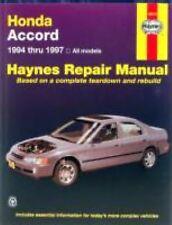1994-1997 Haynes Honda Accord Repair Manual