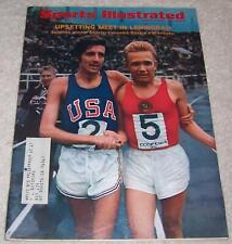 Sports Illustrated Magazine August 3, 1970 Shorter Mikitenko USA v. Russia