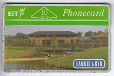 TEST SALON EXPO CARTE CARD .. U.K 10U BT L&G 126F LANDIS & GYR HOUSE MINT/NEUVE
