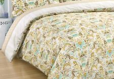 Quilt Doona Duvet Cover Queen Size With Pillowcases Set Cotton Same day dispatch