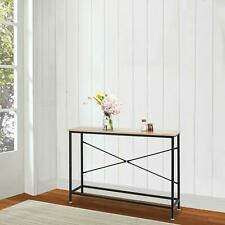 Console Table Modern Sofa End Accent Desk Entryway Hallway Hall Furniture Wood