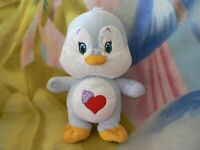 "13"" PLUSH COZY HEART PENGUIN CARE BEAR COUSIN BABY BOY GIRL GIFT 1980's SOFT TOY"