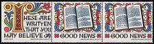 1973 AMERICAN BIBLE SOCIETY Sheet Bible Seals Stamps Cinderella Sticker Label