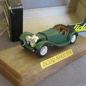 702D Solido Age D' Gold Jaguar Ss 100 Green 1:43 +Box
