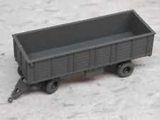 Roco / Herpa Minitanks Painted WWII  US Open Cargo Tractor Trailer Lot #1019B