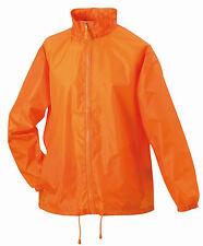 JN195 Windjacke Promotion orange leichte Herren Jacke Regenjacke Freizeitjacke