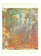 Weeping Willow Claude Monet Unused 4x6 Postcard AF20