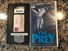 The Prey VHS! 1980 Colorado Rockies Slasher! Friday The 13th Scary Movie 2