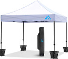 Pop Up Canopy Tent Commercial Instant Canopy, Anti-Uv Easy Up Outdoor 10X10 Cano