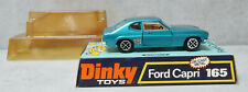 Dinky Toys 165 Ford Capri Turquoise Very Near Mint  in Box