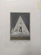 XIX s. A.Canova-MAUSOLEE ARCHIDUCHESSE MARIA-CHRISTINE d'Autriche