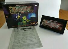Vintage Nightmare III Horror VHS Expansion Board Game Missing Cards & Dice