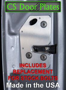 Jeep Cherokee (XJ) 97-01 DRIVER door latch repair & reinforcement plate