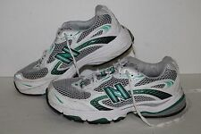 New Balance 1062 Running Shoes, #WR1062CU, Wht/Slvr/Green, Womens US Size 8