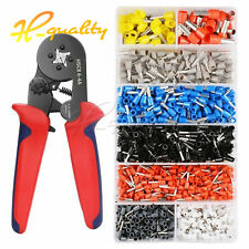 Crimper Plier Set HSC8 6-4 0.25-10mm² Self-adjustable Ratchat Wire Tool