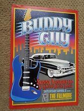 `BUDDY GUY FILLMORE POSTER Sonny Landreth F183 Original Bill Graham Grimshaw