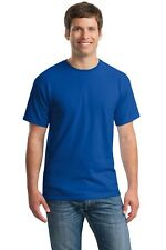 Gildan Heavy Cotton T-Shirts 5.3oz Blank Solid Mens Short Sleeve Tee S-3XL 5000