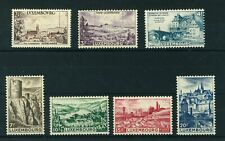 Luxembourg 1948 Tourist Propaganda full set of stamps. Mint. Sg 505a-509.
