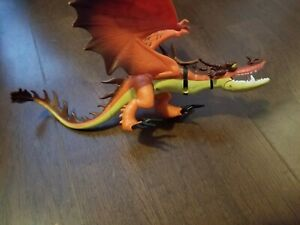 Hookfang Dragon Figurine Toy How To Train Your Dragon DreamWorks Movie