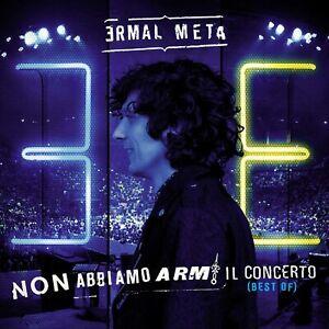 Ermal Meta - Non Abbiamo Armi + Il Concerto (Best Of) 2 CD con 30 Brani Booklet