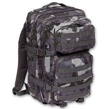 Brandit 40L Sac À Dos US Cooper Tactique Militaire Assault MOLLE Bag Dark Camo