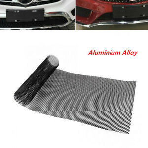 Front Grille Mesh Universal Car Bumper Rhombic Sheet Metal  Net Dissipate Heat