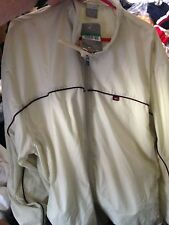 NIKE TRACKSUIT TOPIN LIGHT BEIGE AT £20 IN SIZE 42/44 INCH LINED