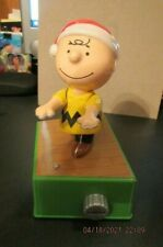 Hallmark Peanuts Christmas Charlie Brown Dance Party Musical & Motion Figurine