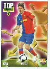 MUNDICROMO. FICHAS LIGA 2009 -  MESSI.FC BARCELONA # 660  TOP ONCE 5