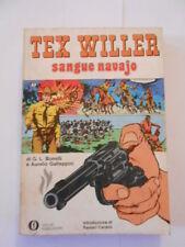 TEX WILLER sangue navajo oscar mondadori prima ed. 1973 -fumetto d'autore