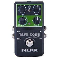 Nux tape Core Deluxe Guitare effet périphérique Delay pédale avec fonction porteur