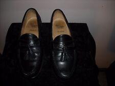 Allen Edmonds Shoes Loafers 10.5 EEE Extra Wide Black Maxfield  Tassel Loafer