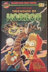 Bongo Simpsons Treehouse Of Horror Comic Matt Groening 1st Issue 1995 VF Pics!
