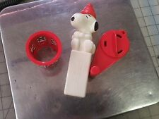 Snoopy Snow Cone replacement parts - Pusher, Crank Arm, & Grater