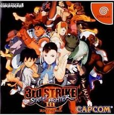 USED Dreamcast DC Street Fighter III: 3rd Strike Japanese Import