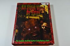 All Flesh Must Be Eaten 1st Edition Zombie Role-Playing Hardcover Eden Studios