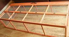 6FT FOOT FOLDING RABBIT GUINEA PIG RUNS HUTCH RUNS 6'