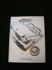 Vintage 1969 Fiat Spider Ad
