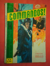 fumetto di guerra commandos -N°8  con sciuscia' LIBRETTO sepim 1966 raro